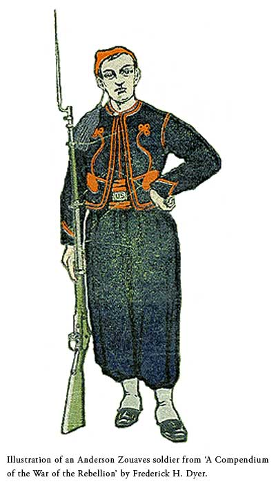 an illustration of a zouave