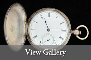 view gallery image of William P. Allcot's pocket watch