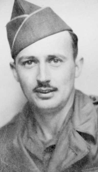 photograph of Sgt. Israel S. Gockley