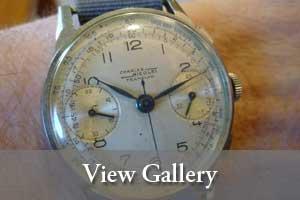 view gallery image of Warren H. Greenawalt, Jr.'s wristwatch