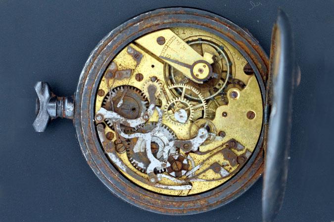 image of Warren Greenawalt, Jr. wristwatch