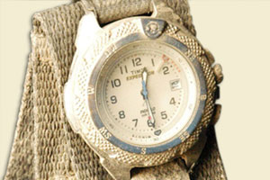 image of Jason Shiflet's wristwatch
