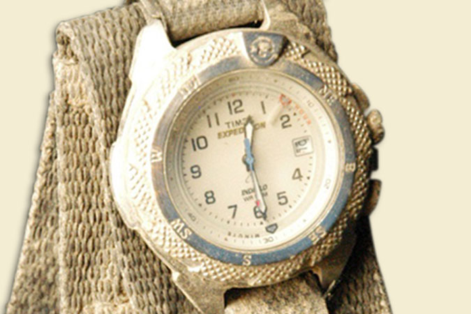 Jason Shiflet's Wristwatch