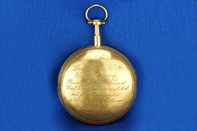 image of george washington's pocket watch